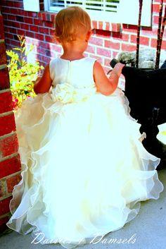 Flower+girl+dress+ivory+girls+toddler+baby+by+DaisiesandDamsels,+$247.24