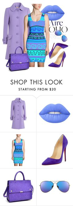 """""""Boho Chic"""" by dogzprinted ❤ liked on Polyvore featuring Michael Kors, Lime Crime, Christian Louboutin and Dasein"""