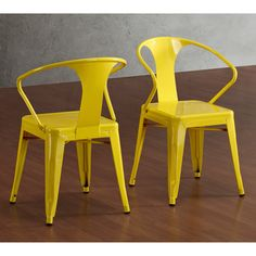 """Set of (4) steel stacking chairs, 31 inches high x 20 inches wide x 19 inches deep, seat height 17"""" high. $209 for (4)."""