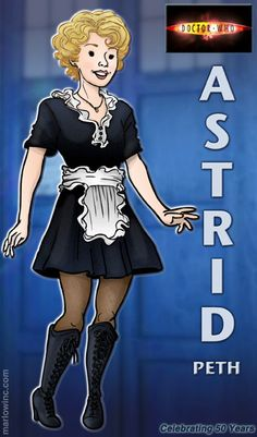 She would've made a great companion. :) Wish they had Sally Sparrow in this style! Doctor Who Cast, New Doctor Who, Tenth Doctor, Good Doctor, Original Doctor Who, Peter Davison, Doctor Who Companions, British Soldier, Matt Smith
