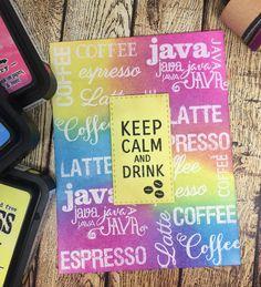 Verve Stamp and Sugar Pea Designs Coffee Sets