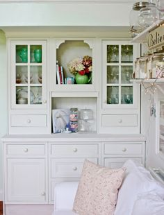 I need this in my dining room. built-in hutch