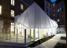 Crèche Épée de Bois à Paris par h2o architectes - Journal du Design