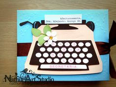 Caja de chocolates día de la Secretaria. Chocolate box Secretary Day Handmade.