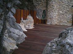 Obra Molino s.XVII Corçà, Lleida | PARK HOUSE STUDIO | Parquet Madera Pavimento #tarima #madera #ipe #exteriores #parkhouse #lleida #molino