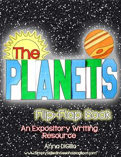 Wanna have a BLAST learning about the PLANETS?  Look no further!  This Expository Writing Resource is all you will need for your students to showcase their research skills on the Planets. Check it out!$