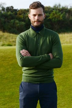 These pics of Jamie Dornan golfing are just… wow