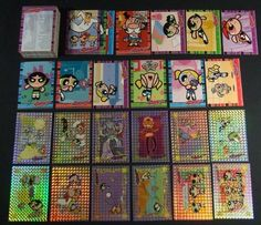 2000 Artbox The Powerpuff Girls Trading Card Set (72) with Prism L1 Chase Set by Kruk Cards. $23.99. A complete 72 card Base set with a complete 12 card Level One Prism Chase Card Set.MINT Condition See all photo's below