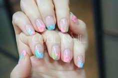 #coolnail #gelnail #ssnail #springnail #heartnail #lovelynail #pastelnail #frenchnail 여성스럽고 러블리한 파스텔톤의 하트 젤네일!