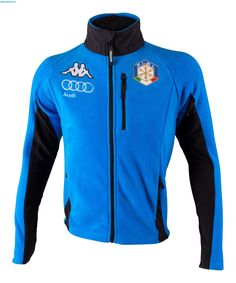 Kappa Men Italian Alpine Team 6Cento Fleece Jacket - Azzurro