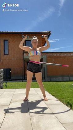 Workout mal anders 💪🏼 #hulahoop #workout #fitness #fitnessgirl #getfit #fyp #fy #viral #motivation #fitnessmotivation #sport #sport #motivation Insta @triplewonderandme_✌🏼 Sport Motivation, Fitness Motivation, Sport Sport, Hula Hoop, Workout Fitness, Running, Sports, Exercises, Hs Sports