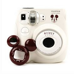 Check out these cute goodies from www.eyecandys.com! Fujifilm Instax Mini 7S Mickey Camera Gift Set