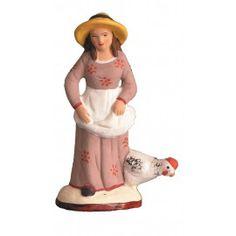 Femmes - Santons Gonzague - Santons de Provence et accessoires Christmas Nativity, Moulding, Saints, Truck, Creations, Crafting, Miniatures, France, Costumes