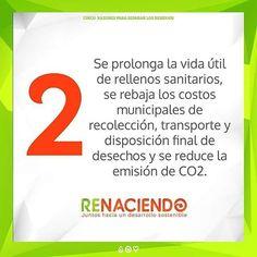 5 razones para separar los residuos #renaciendo #recycle #medioambiente #eco…