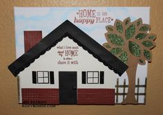 Roxybonds Close To My Heart CTMH consultant : March Stamp of the Month Blog Hop- Happy Place