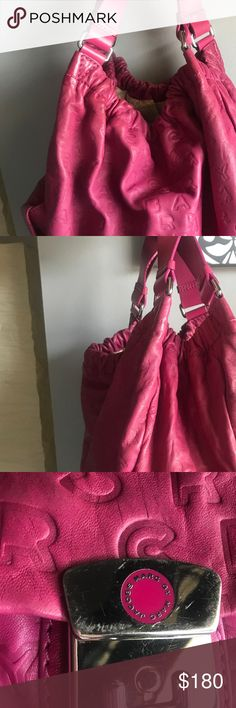 MARC BY MARC JACOBS PINK HAND BAG Leather Good Condition Marc By Marc Jacobs Bags Hobos
