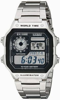 Casio men's watches are known for its style and reliability aspect. Casio watches for men are availa. Amazing Watches, Cool Watches, Watches For Men, Wrist Watches, Beautiful Watches, G Shock Watches Mens, Casio Digital, Mens Digital Watches, Casio Edifice