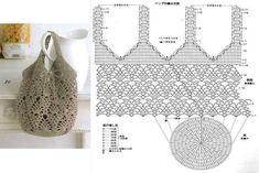 Achei estas imagens no facebook Crochet Kingdom (E.H)