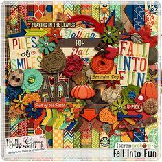 Fall into Fun | Bella Gypsy Designs Digital Scrapbooking Kit