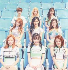 If there's one interesting group that debuted in the KPOP industry in the more recent generation, it would be TWICE. TWICE is a South Korean [. Nayeon, K Pop, Kpop Girl Groups, Korean Girl Groups, Kpop Girls, Shy Shy Shy, The Band, Twice Group, Warner Music