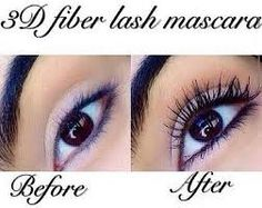 Younique 3D fibre (fiber) lash mascara - amazing results!  To purchase: https://www.youniqueproducts.com/greeneyes