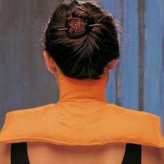 Viridis Thermo-Auflage für Schulter und Nacken  Empfehlenswert bei: - Schmerzen im Nacken sowie im Bereich der Halswirbelsäule und der Schulter - Gelenkabnutzung - Muskelverspannungen - Spannungskopfschmerz - Kälteempfindlichkeit
