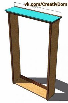 1. необходимые материалы, инструменты, раскрой и проект кровати. Материалы: - Лист фанеры или МДФ толщиной 12 мм (1 шт. );. - Доски 2. 5x30x240 см (3 шт. );. - Доска 2. 5x20x240 см (1 шт. );. - Доска ...