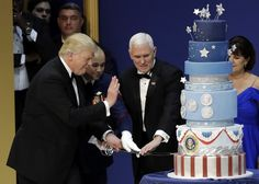 Trump's inaugural cake was commissioned to look exactly like Obama's, baker says