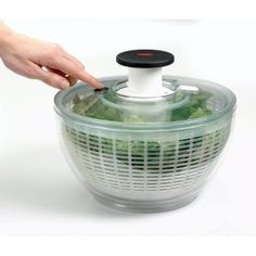 I like using this to dry salad greens. No more watered down dressing for me.