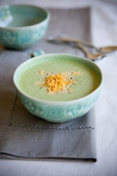 cream of broccoli, asparagus, or pea soup from america's test kitchen cookbook