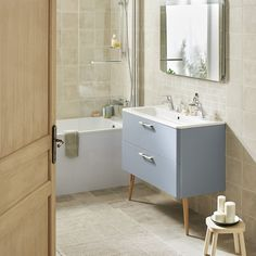 meuble de salle de bains noirs Allibert
