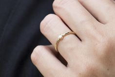 Anel Petit / Petit ring / pretty little diamond ring. #minimaljewerly #joiasliê #diamondring