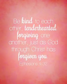 bible verses about being kind