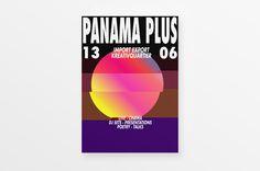 Panama Plus Festival 2015 Branding, Visual identity, Event