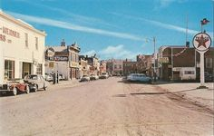 50th Street , Lacombe Alberta Canada . Canada 150, Frozen In Time, Alberta Canada, Old Photos, Places Ive Been, The Past, Street View, Fundraising, History