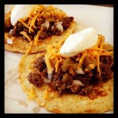 Dukan Tacos on Homemade Tortillas