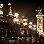 A tranquil night in the city of light by Royalty Pics