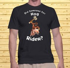 Did Someone Say Hog Rider   Clash of Clans by MyLifeHappens