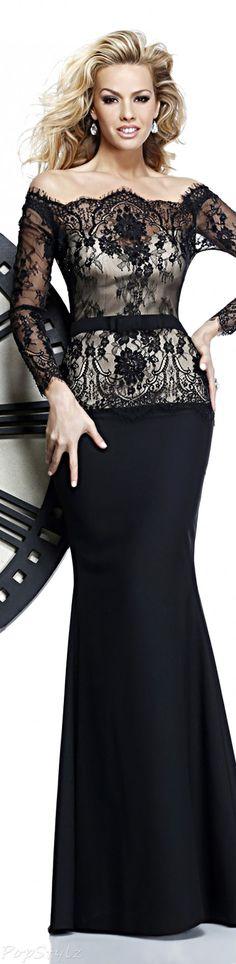 Tarik Ediz 92316 Evening Gown