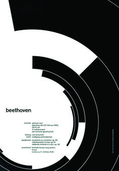 Brockmann's famous Beethoven poster