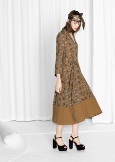 & Other Stories | Tigress Print Dress