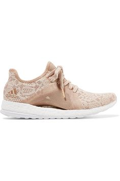 adidas Originals - Pure Boost X Element Primeknit Sneakers - Blush  Superstars Shoes 07379b2d3