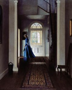 The Hall - Leonard Campbell Taylor ~ (English: 1874-1969)