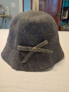 Ladies Talbots Bucket Hat - Gray - No Size - New Without Tags  fashion   eb8230afc873