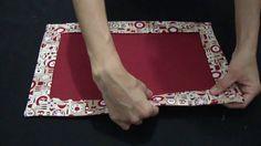 DIY: Passo a passo Jogo americano #Costurecomigo - YouTube