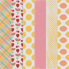 Free Printable Pink Lemonade Paper Pack from Harper Finch
