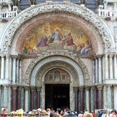 Mosaïque sur la Basilique Saint Marc de Venise