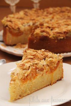 Philo aux fourneaux: Gâteau frangipane à l'abricot