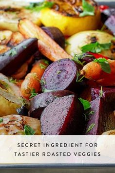 The Secret Ingredient for Tastier Roasted Veggies #purewow #food #cooking #grilling
