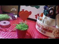 SAN VALENTIN:corazon porta fotitos y notitas - YouTube